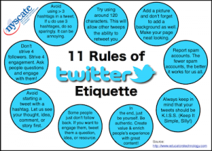 11 Rules of Twitter Etiquette